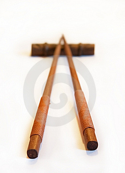 Japanese Chopsticks Royalty Free Stock Image - Image: 14283366