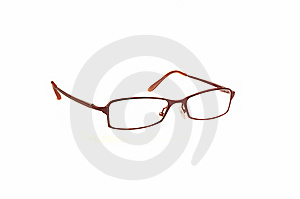 Pair Of Red Spectacles Royalty Free Stock Photography - Image: 14283897