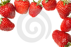 Ripe Red Strawberries Royalty Free Stock Photos - Image: 14284498