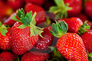 Red Strawberries Royalty Free Stock Images - Image: 14284519