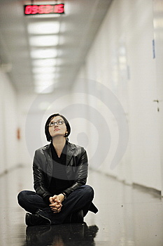 Urban Yoga Royalty Free Stock Photo - Image: 14284725
