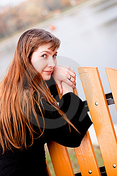 Lady In Black Stock Images - Image: 14288384
