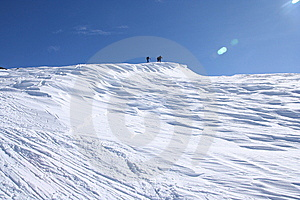 Alps Ski Touring Royalty Free Stock Photography - Image: 14291217