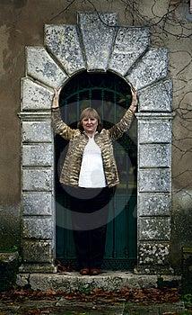 Elegant Senior Lady Portrait Royalty Free Stock Photo - Image: 14291365