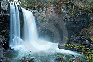 Lower Battle Creek Falls Stock Images - Image: 14292124