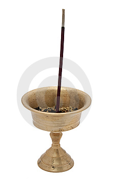Buddhist Incense Royalty Free Stock Image - Image: 14292476