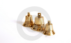 Small Brass Bells Royalty Free Stock Photo - Image: 14292545