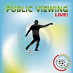 Public Viewing 01 Royalty Free Stock Photos - Image: 14292978