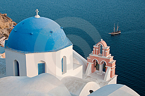 Greek Church Stock Photos - Image: 14294263