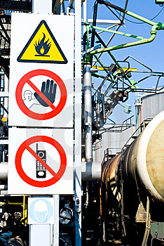 Warning Signs Stock Image - Image: 14294861