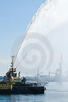 Marine Fire Squad Stock Images - Image: 14295004