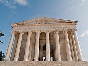 The Thomas Jefferson Memorial Royalty Free Stock Photography - Image: 14295157