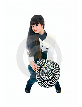 Lovely Teen Girl Royalty Free Stock Photo - Image: 14297445