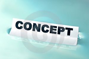 CONCEPT Stock Image - Image: 1431571