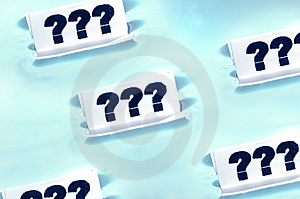 '???' Questions Concept Stock Photography - Image: 1431672