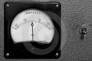 Amperage Display Stock Image - Image: 1433411