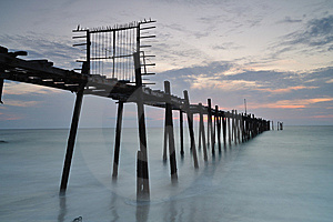 Pier Stock Photography - Image: 14305862