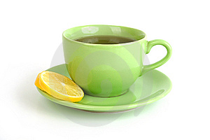 Cup Of Tea With Lemons And Lumps Of Sugar Royalty Free Stock Photos - Image: 14306188