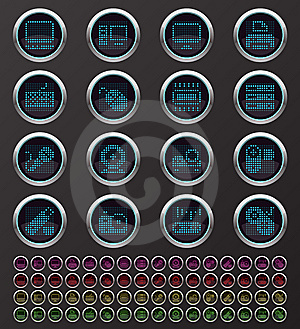 Web Buttons Stock Images - Image: 14306284