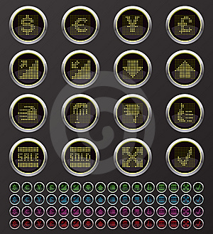 Web Buttons Stock Photos - Image: 14306833