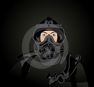 Person In A Protective Suit Stock Photos - Image: 14308453