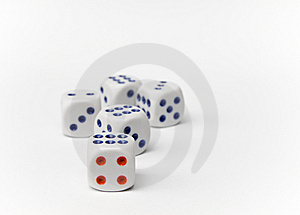 Dice Royalty Free Stock Photos - Image: 14311548