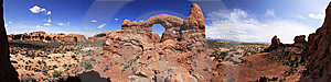 Turret Arch Stock Photo - Image: 14313070