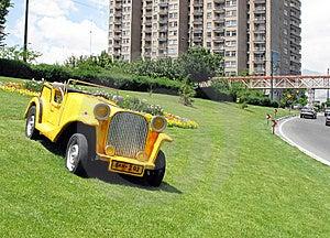 Sculptured Car Stock Photography - Image: 14313902