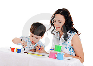 Young Mother And Son Stock Images - Image: 14321244