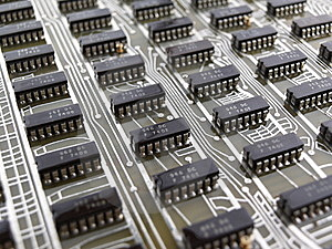 Circuit Board Stock Image - Image: 14322691