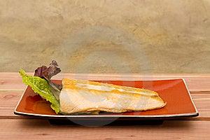 Salmoni Cucinati Fotografia Stock Libera da Diritti - Immagine: 14322925
