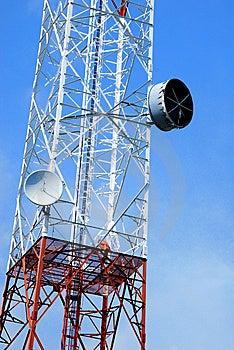 Telecommunication Tower Stock Image - Image: 14323911