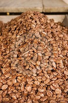 Caramelized Almonds Royalty Free Stock Photo - Image: 14326405
