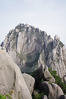 Heavenly Capital Peak(huangshan) Royalty Free Stock Photos - Image: 14328238