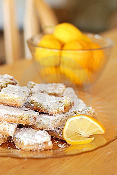 Lemon Shortbread Bars Stock Photography - Image: 14328562
