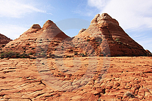 Sandstone Formations Near The Wave Stock Photography - Image: 14328722