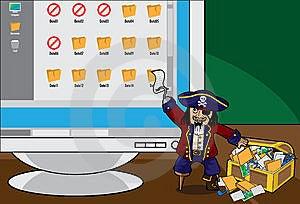 ModernPirate Royalty Free Stock Image - Image: 14329626