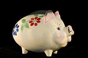 Piggy Bank Royalty Free Stock Photos - Image: 14330288