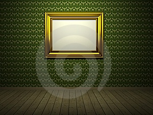 Room With Picture Royalty Free Stock Image - Image: 14331906