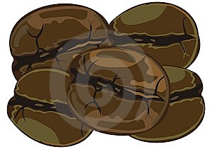 Coffee Beans Stock Photo - Image: 14332010