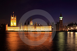 Big Ben And Westminster At Night Stock Photo - Image: 14333610
