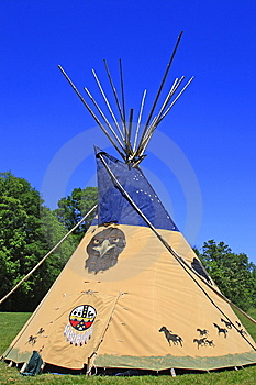 Indian Tee Pee Royalty Free Stock Photography - Image: 14333947