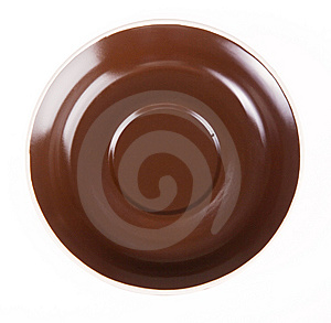 Empty Saucer Stock Images - Image: 14334844