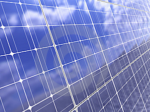 Solar Panel Background Stock Photography - Image: 14335092