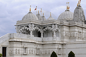 Traditional Details Of Indian Temple Royalty Free Stock Images - Image: 14335719