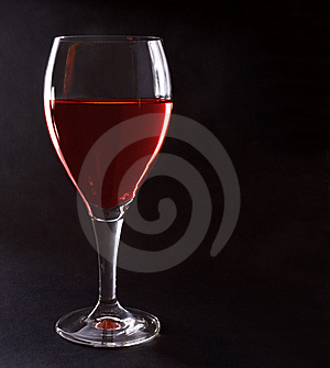 Glass Of Red Wine Royalty Free Stock Image - Image: 14336026