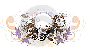 Abstract Floral Background. Stock Images - Image: 14340444