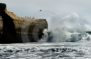 Big Wave Crashing Stock Photography - Image: 14342222