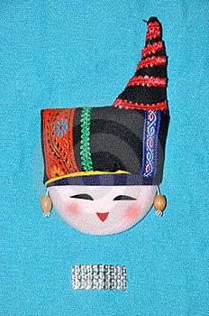 中国刺绣华丽服装少数民族称呼 免版税库存照片 - 图片: 14342735