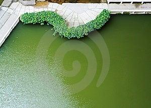 Sidewalk Along Quarry Lake Stock Images - Image: 14343464